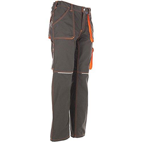 Planam pantalon mG290 rouge   Rouge - Rouge Olive/Orange