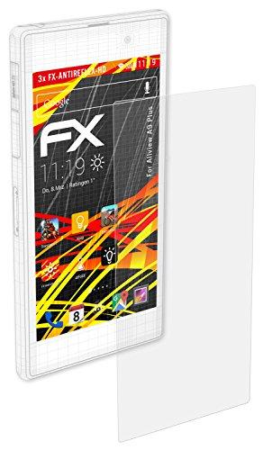 atFolix Schutzfolie kompatibel mit Allview A9 Plus Bildschirmschutzfolie, HD-Entspiegelung FX Folie (3X)