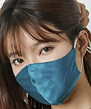 Dual side Mulberry Silk Face Mask with PM2.5 Filter Slice Mask Washable Adjustable Cool And Breathable Mask An