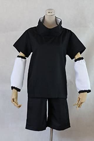 Anime japonais NARUTO Uchiha Sasuke VER.2 Cosplay Costume, taille S: (Hauteur 150cm-160cm, Poids 50-55