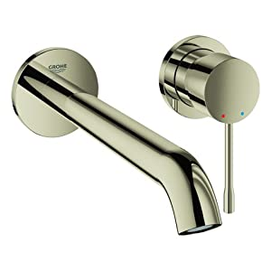 Grohe Essence New – grifo monomando parte exterior lavabo 2ag 5,7l L – Polished Nickel
