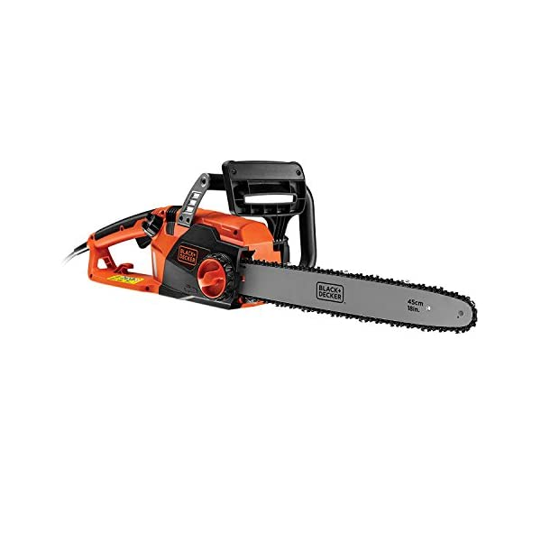 BLACK+DECKER CS2245-GB Corded Chainsaw, 45 cm, 2200 W 1
