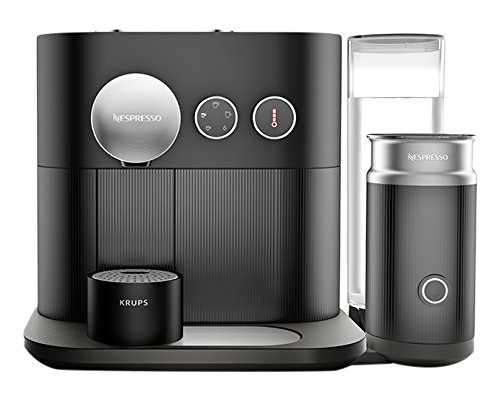 Nespresso Expert Coffee and Milk Machine, Black by Krups Best Price and Cheapest