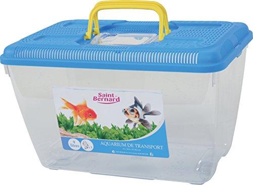 SAINT BERNARD - Acuario de plástico para Transporte