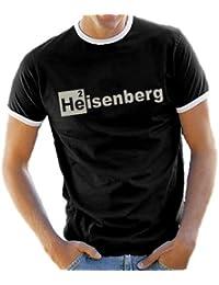 Heisenberg Helium Ringer / Kontrast T-Shirt S-XXL div. Farben