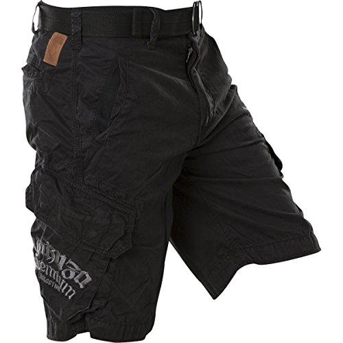 Yakuza Premium Shorts YPSH-2261 Black Schwarz Schwarz