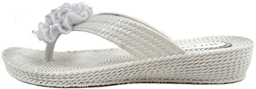 Absolute Footwear, Sandali donna Argento