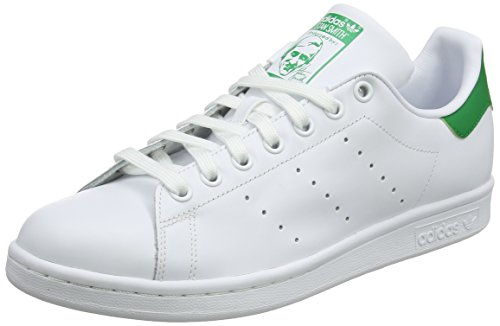 Adidas Men's Stan Smith Trainers, White/Green, Size UK 12