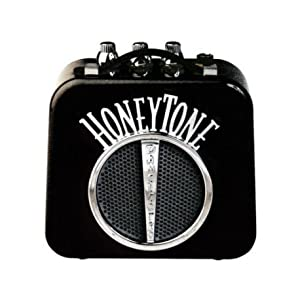 Danelectro n-10 Honeytone mini amplificatore a batterie black nero