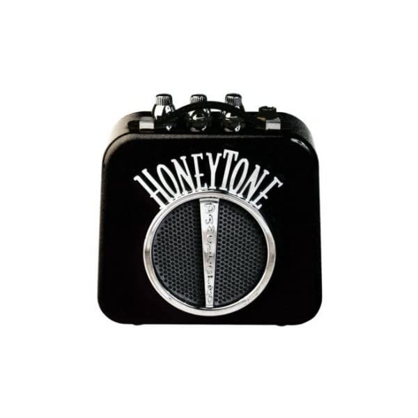 Danelectro n-10 Honeytone mini amplificatore a batterie black nero