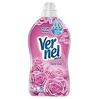Vernel Max Taze Gül Çamaşır Deterjanı, 1,44L