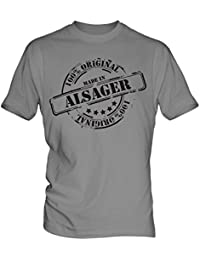 Made In Alsager - Mens T-Shirt T Shirt Tee Top