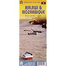 Malawi & Mozambique : 1/900 000