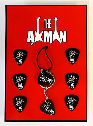 Axman Lemmy Kilmister (Motörhead) Anhänger, Schlüsselanhänger und 6 Plektren (Motorhead Miniatures)