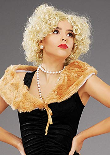 Magic Box Int. Womens 1920s Blonde lockige Flapper Girl Perücke (Girl Perücke Flapper)