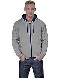 JH053 Varsity Zoodie Sweatjacke Sweatshirt Jacke
