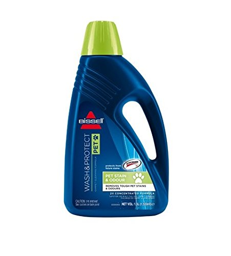 bissell wash and protect pet carpet shampoo 15 l