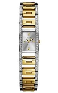 Guess - W10207L1 - Montre Femme - Montre Quartz Analogique - Collection Platform G - Bracelet en Acier inoxydable Bicolore