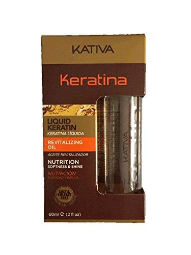 Kativa, Aceite para el cabello - 60 ml.