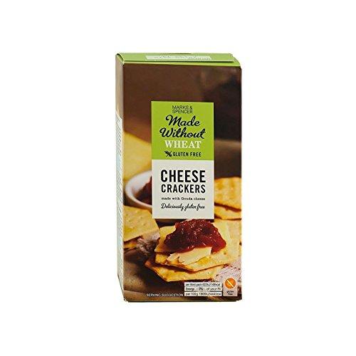 Marks & Spencer Käse-Cracker 100G Frei Gluten (Packung mit 4)