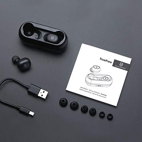SoundPEATS Bluetooth 5.0 kabellose Kopfhörer True Wireless TWS Bluetooth Kopfhörer in Ear Mini Headset Sport drahtlose Ohrhörer IPX6 mit Ladebox Mikrofon automatische verbinden iPhone Huawei Samsung - 5