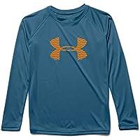 Under Armour Big Boys' Slasher LS Surf Shirt - Slate Blue