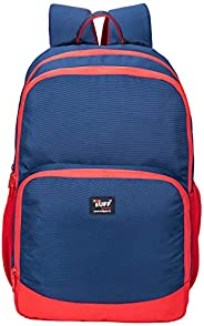 TUFFGEAR 25 L Blue Polyester Water-Resistance Lightweight Scotland College Backpack