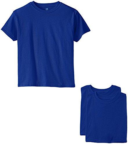 Hanes Jungen T-Shirt - blau - - Hanes Kinder T-shirt