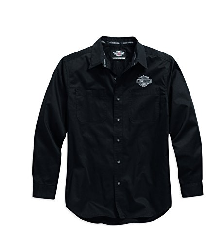 harley-davidson-logo-woven-long-sleeve-shirt-black-99011-15vm-mens-shirt-black-56-58