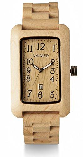 Laimer orologio legno modello prezzo ioandroid for Orologio legno amazon