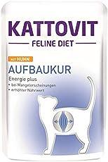Finnern KATTOVIT Aufbaukur Huhn | 24x 85g Katzenfutter Bei Untergewicht