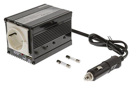 Eurosell - Profi Wechselrichter Netzadapter 12 V – 230 V 150 W + USB Spannungswandler Zigarettenanzünder Steckdose Adapter Konverter Converter Strom für KFZ Auto Boot Camping Wohnmobil