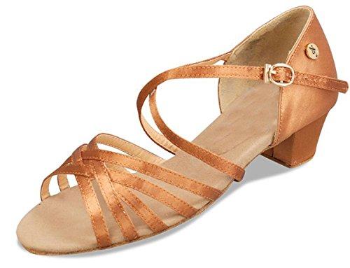 Minitoo , Salle de bal femme Brown-5cm Heel