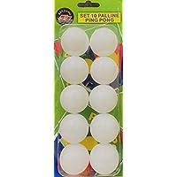10 PCs Table Tennis Balls 40 mm - Ping Pong Balls White