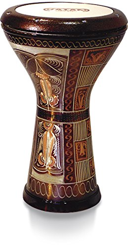 vatan-3012-egyptian-goblet-drum-with-pearlescent-style-print-size-large-diameter-22-cm-silver