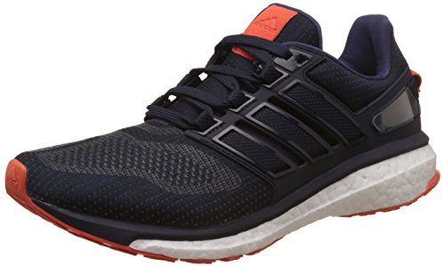 adidas Energy Boost 3 M, Scarpe Running Uomo Blu (Night Navy/midnight Grey/energy Orange)