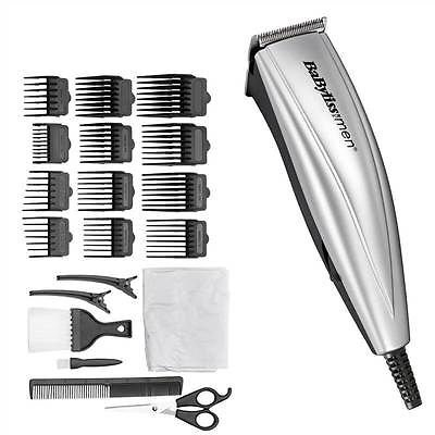 BRAND-NEW-BABYLISS-MENS-HAIR-CLIPPER-TRIMMER-MAINS-OPERATED-KIT