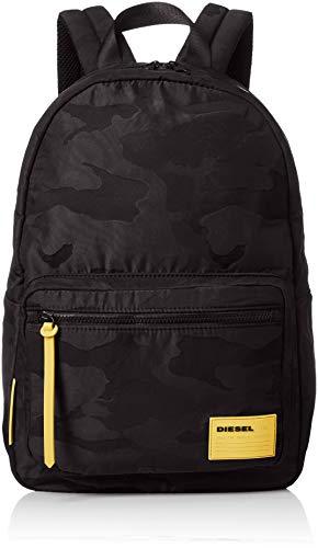Diesel Herren UZ F-Discover Back-Backpack Rucksäcke, schwarz, Einheitsgröße