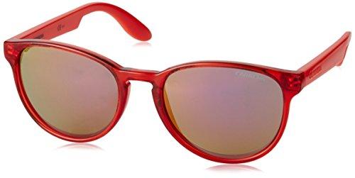 Carrera Junior Unisex-Kinder CARRERINO 16 E2 TTH Sonnenbrille, Orange Coral/Pkviol Gold Grey Speckled, 49