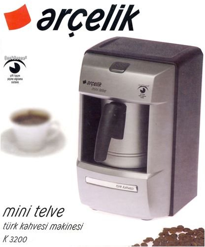 Automatic Turkish Coffee Machine (Serves Two People)