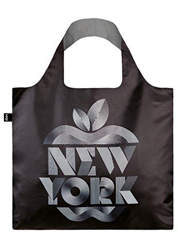 LOQI Alex Trochut Einkaufstasche / Reisetasche Reise-Henkeltasche, 50 cm, New York