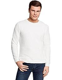 vasta selezione di 5c34a aa138 Amazon.it: maglione bianco - Uomo: Abbigliamento