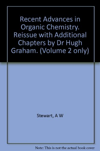 Recent Advances in Organic Chemistry - Volume 2
