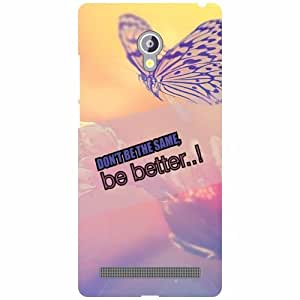 Asus Zenfone 6 A601CG Back Cover - Be Better Designer Cases