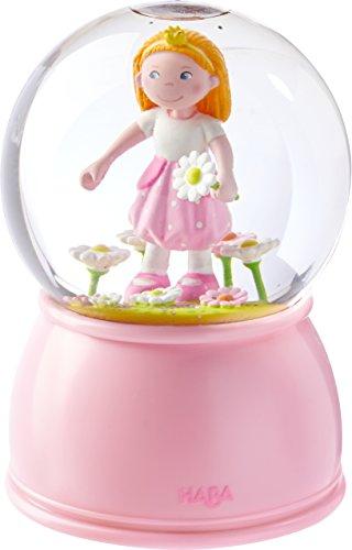 HABA 303516 LED-Schlummerlicht-Schneekugel Prinzessin, mehrfarbig