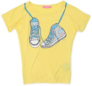 Sun Valley Junior Ciao T-shirt manches courtes fille Jaune 6 ans