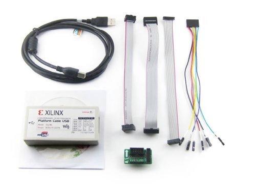 NGW-1set Compatible XILINX Platform Cable USB FPGA CPLD JTAG SPI Download Debugger Programmer