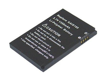 PowerSmart [3,70 V, 1350 mAh, LI-Polymer], Ersatz für Smart Phone Akku für HTC TyTN II, KAIS130, Kaiser, P4550, & T schwenkbar an, T-Mobile MDA Vario III, Vodafone v1615, kompatible Teilenummern: BA S210, KAIS160