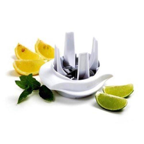 Norpro Zitronen-/Limetten-Schneider, Weiß