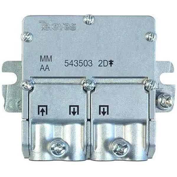 Televés 543503 543503 - Mini Repartidor 5 2400 mhz easyf 2D ...